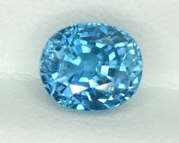 4.09 CT NATURAL SPARKLING ZIRCON FULL OF LUSTER HIGH QUALITY GEMSTONE