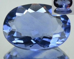6.20 Cts Natural Color Change Fluorite Oval Cut Brazil Gem