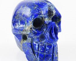 Genuine 1324 cts Lapis Lazulli Handcarved Skull