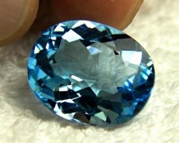 26.0 Carat VVS Brazilian Blue Topaz - Gorgeous