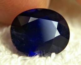 8.80 Carat Midnight Blue Sapphire - Gorgeous