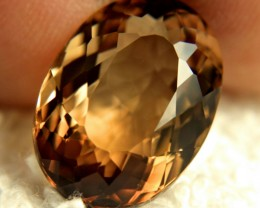 18.92 Brazil VVS Golden Topaz - Gorgeous