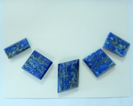 101ct Natural  Lapis Lazuli With Nugget Surface Cabochon Set(17100912)