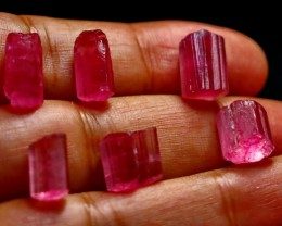 108 CT Natural - Unheated Pink Color tourmaline Crystal