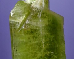 872 Cts Natural - Unheated Green Hiddenite Kunzite Crystal