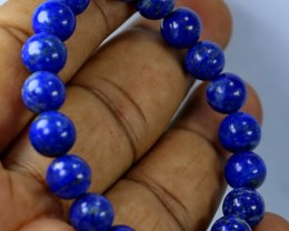 100 CT Natural lapis lazuli Bracelets Carved Beads Stone Special Shape