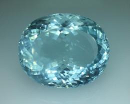 48.80 Ct Natural Aquamarine Awesome Luster ~ Skardu