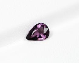NR! 0.96Ct Natural VS1 Purple Color Spinel
