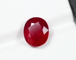 10.37Ct Natural Vivid Red Color Ruby