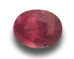 Natural Unheated Pink sapphire|Loose Gemstone|Certified|Ceylon-NEW