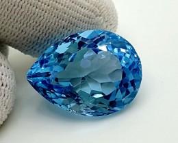 26.50 CT BLUE TOPAZ  BEST QUALITY GEMSTONE IGC59