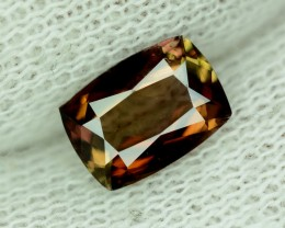 Rare! 1.30 Ct Natural Unheated Color Change axinite. Pakistan