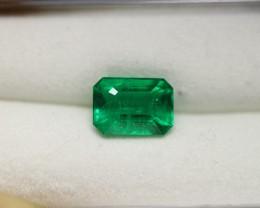 1.5 Carat AGL Certified Stunning Panjshir(Afghan) Emerald