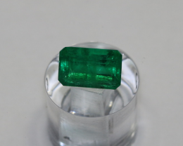 0.89 carat Stunning Panjshir Minor Oil Beautiful Vivid Green