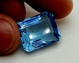 29.55 Crt Blue Topaz  Stunning  Gemstone   Jl135
