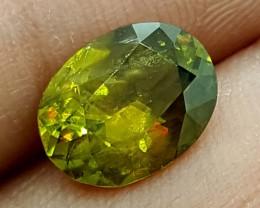3.15 Crt Color Change sphene  Stunning  Gemstone   Jl135