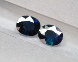 1.66Ct Natural UNHEATED Dark Blue Color Australian Sapphire