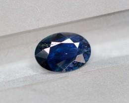 1.18Ct Natural UNHEATED Dark Blue Color Australian Sapphire