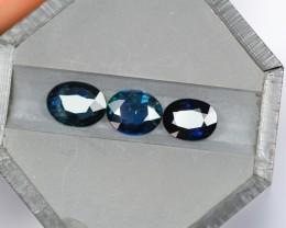 2.58Ct Natural UNHEATED Dark Blue Color Australian Sapphire
