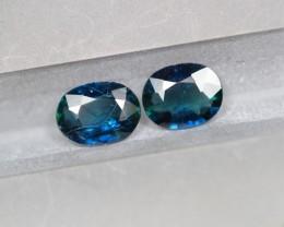 1.34Ct Natural UNHEATED Dark Blue Color Australian Sapphire