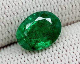 2.45 CT EMEARLD HIGH QUALITY BEST CUT GEMSTONE IGCEM13