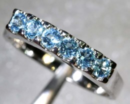 17CTS TOPAZ SILVER RING SG-2531