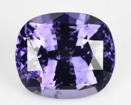 ~BEAUTIFUL~ 4.22 Cts Natural Cobalt Blue Spinel Cushion Sri Lanka