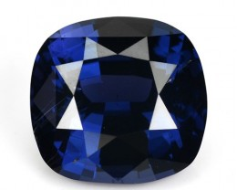~AWESOME~ 4.64 Cts Natural Deep Blue Spinel Cushion Sri Lanka