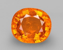 2.97 Cts Beautiful Natural Fanta Orange Spessartite Garnet