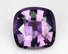 1.01 Cts Natural Violetish Purple Spinel Cushion Burmese