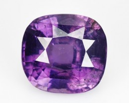 3.59 Cts Natural Nice Purple Spinel Cushion Sri Lanka