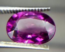 2.60 Crt Natural Purple Rhodolite Garnet Faceted Gemstone (R 80)