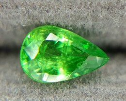 0.22 Crt Natural Tsavorite Faceted Gemstone (R 80)