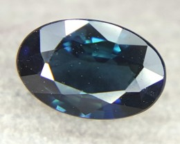 0.45 Crt Natural Sapphire Faceted Gemstone (R 80)