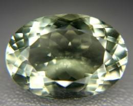 11.60 Crt Natural Prasiolite Green Amethyst Faceted Gemstone (M 80)
