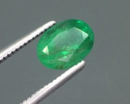 1.19 Ct Natural Emerald Excellent Color ~ Kj25