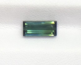 2.02 Ct Untreated Green Tourmaline Awesome Color ~ Afghanistan Kj25
