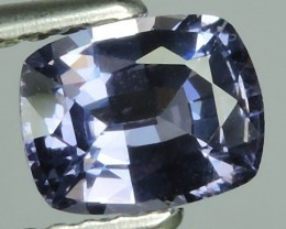 Private auction~STUNNING FIRE RAREST VIOLET-BLUE COLOR SPINEL CUSHION-CUT N