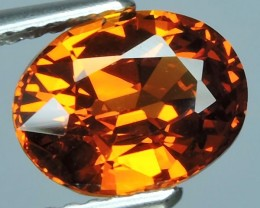 CERTIFIED-2.51 Cts EXQUISITE NATURAL UNHEATED ORANGE RED SPESSARTITE