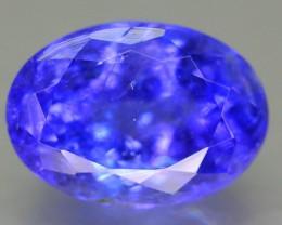 GiL Cert AAA Color 3.63 ct Blue Tanzanite SKU-2