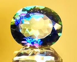 4.54ct Ink Blue flash Mystic Topaz gem