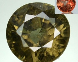 ~NICE ROUND~ Natural Color Change Garnet GREEN - RED Tanzania