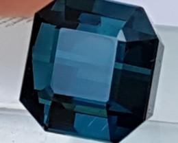 5.34cts,Certified Indicolite Blue Tourmaline, VVS
