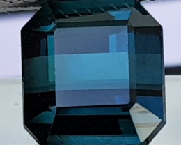 6.32cts,Certified Indicolite Blue Tourmaline, VVS