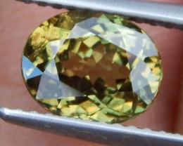 2.00cts, Demantoid Green Garnet,  VVS Eye Clean,  Untreated,