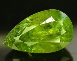 8.30 ct Natural Demantoid Garnet w Horsetail Inclusion
