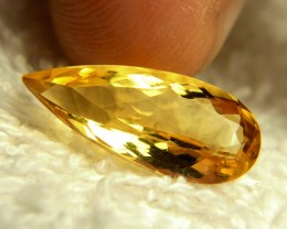 5.45 Carat VVS/VS Brazil Golden Beryl - Gorgeous