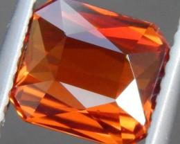 2.70cts, Mandarin Spessartite Garnet, Untreated,   VVS