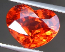 5.83cts, Certified Mandarin Spessartite Garnet, Untreated,