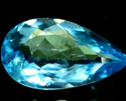 NO Reserve ~ 16.35 cts Flawless Blue Topaz Gemstone